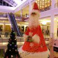 Дед мороз каркасная фигура, высота 1,8м.