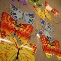 Бабочки большие, печать на бумаге. Можно сделать любую форму, любой цвет, размер от 0,5 до 1,5м.